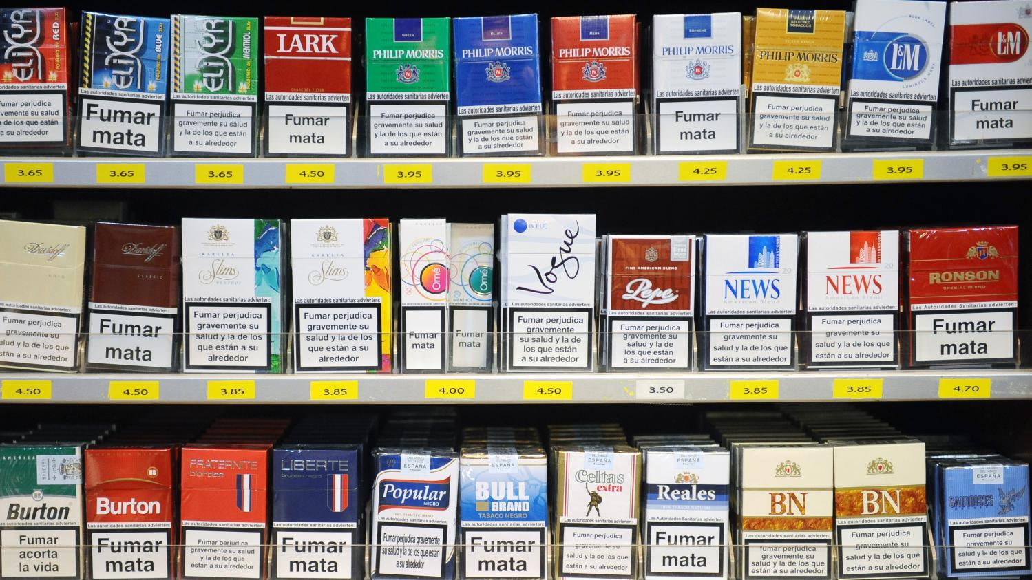 Le quota de cigarette par pays sur info-quotas.fr