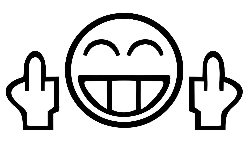 Fuck Off Emoticon 47